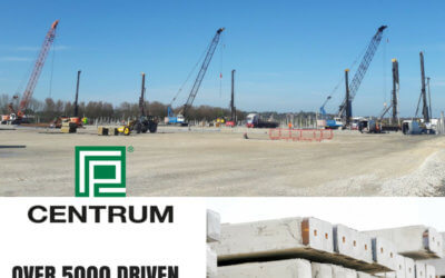 Centrum Piles Manufactured for Commercial Sheds
