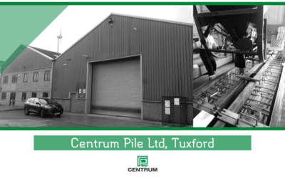 Centrum Pile Increase Production Capacity