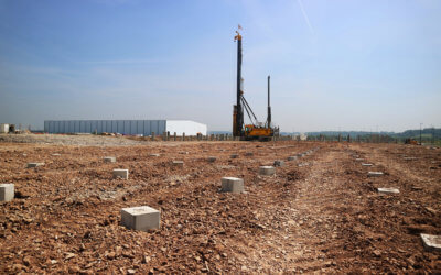 Centrum Supply Piles to new Lidl in Avonmouth, Bristol