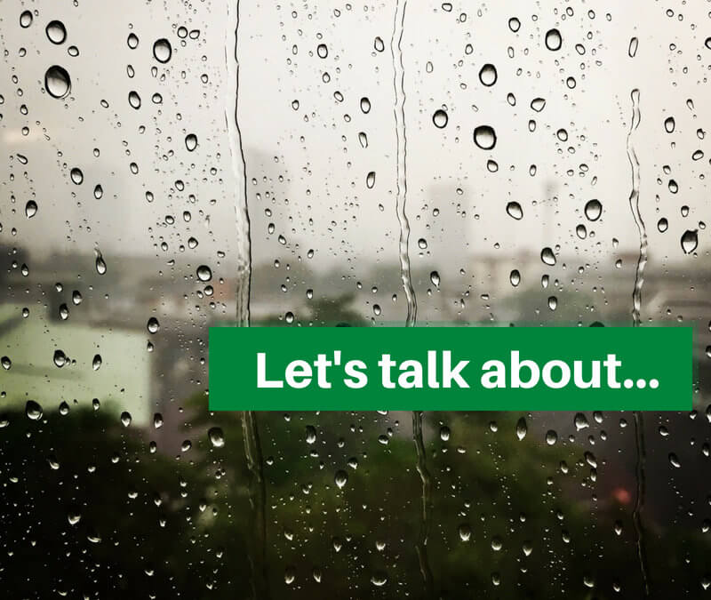 Let's talk about… Rain Water Harvesting